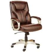 AmazonBasics Leather Desk Chair