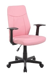 Anji Ergonomic Pink Office Chair