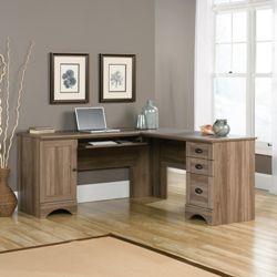 l shaped desk for home office. Sauder Harbor View L-Shaped Desk L Shaped For Home Office