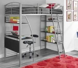 DHP Loft Bed with Desk Underneath