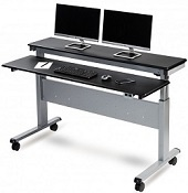 Adjustable Metal Desk