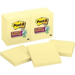 Canary Yellow Post It Notes