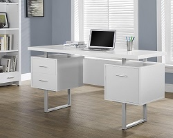Monarch Specialties Metal Frame Desk