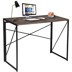 wood metal desk
